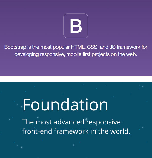 Bootstrap and Foundation are two of the most widely adopted grid-based frameworks.